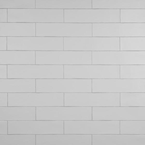 Chester Matte Bianco 3 in. x 12 in. Ceramic Wall Subway Tile (5.93 sq. ft. / Case)