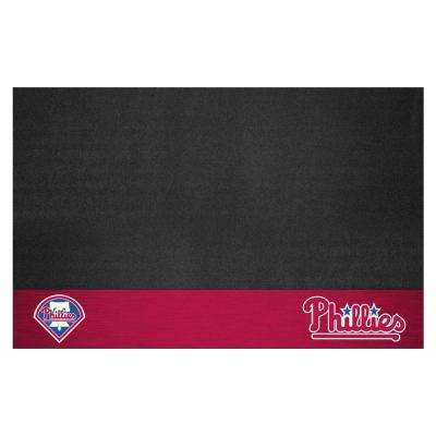 Philadelphia Phillies 26 in. x 42 in. Grill Mat