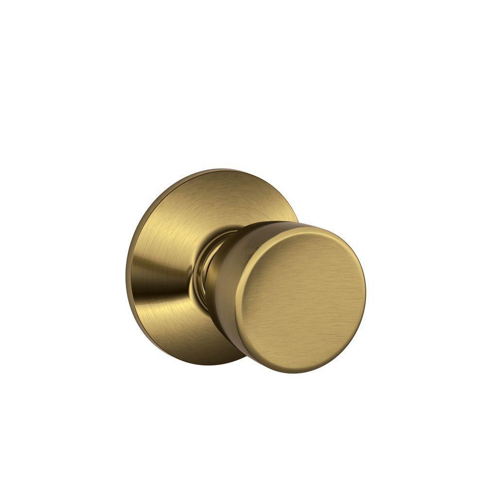 Schlage Bell Antique Brass Passage Door Knob