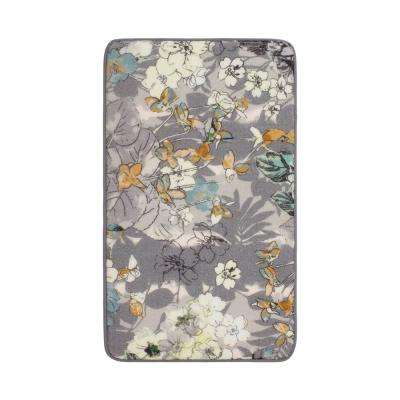 Ethereal Jersey 1 ft. 8 in. x 2 ft. 8 in. High Definition Printed Memory Foam Accent Rug