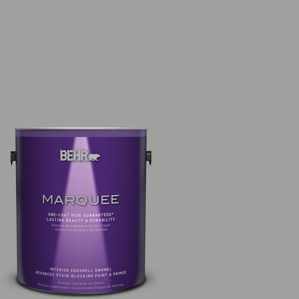 behr marquee 1 gal mq6 22 gateway gray eggshell enamel one coat