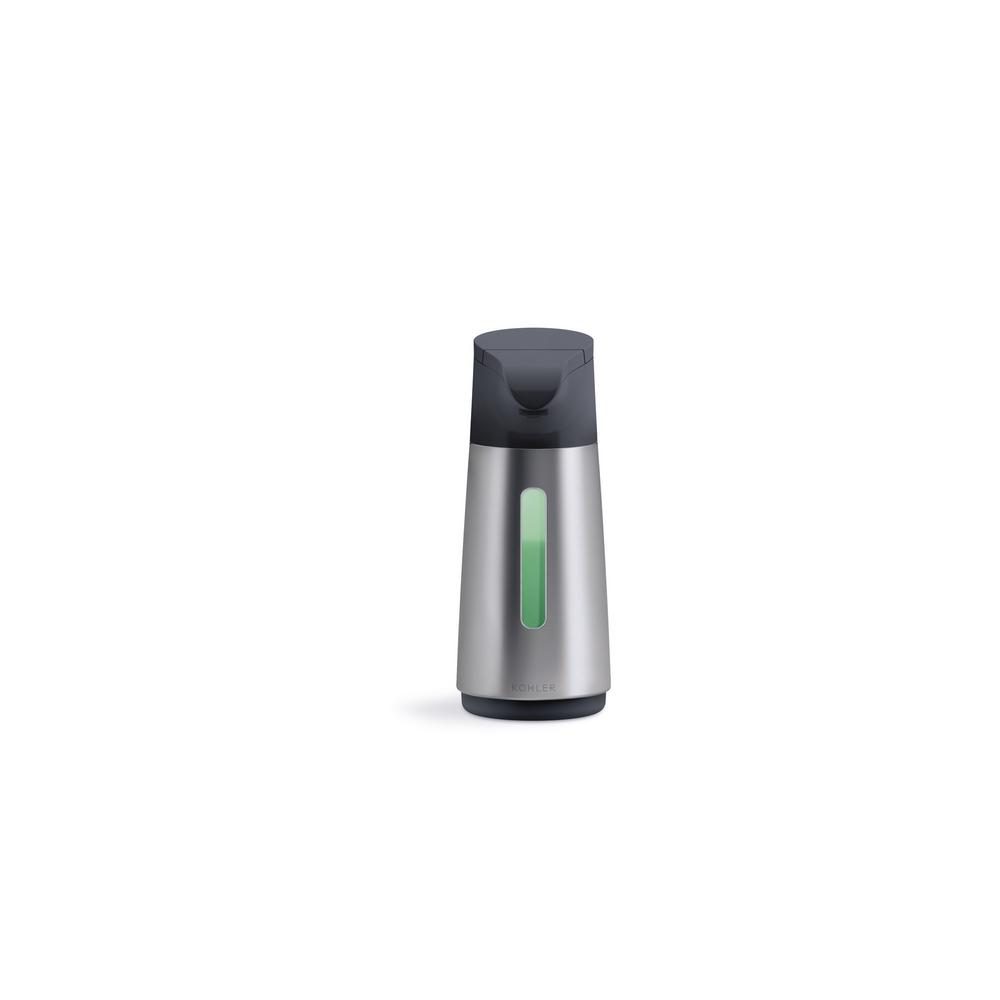 KOHLER Touchless Foaming Soap Dispenser in Stainless Steel
