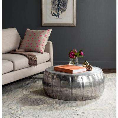 Dara Silver Coffee Table