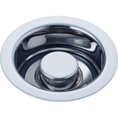 Classic Kitchen Disposal and Flange Stopper in Chrome