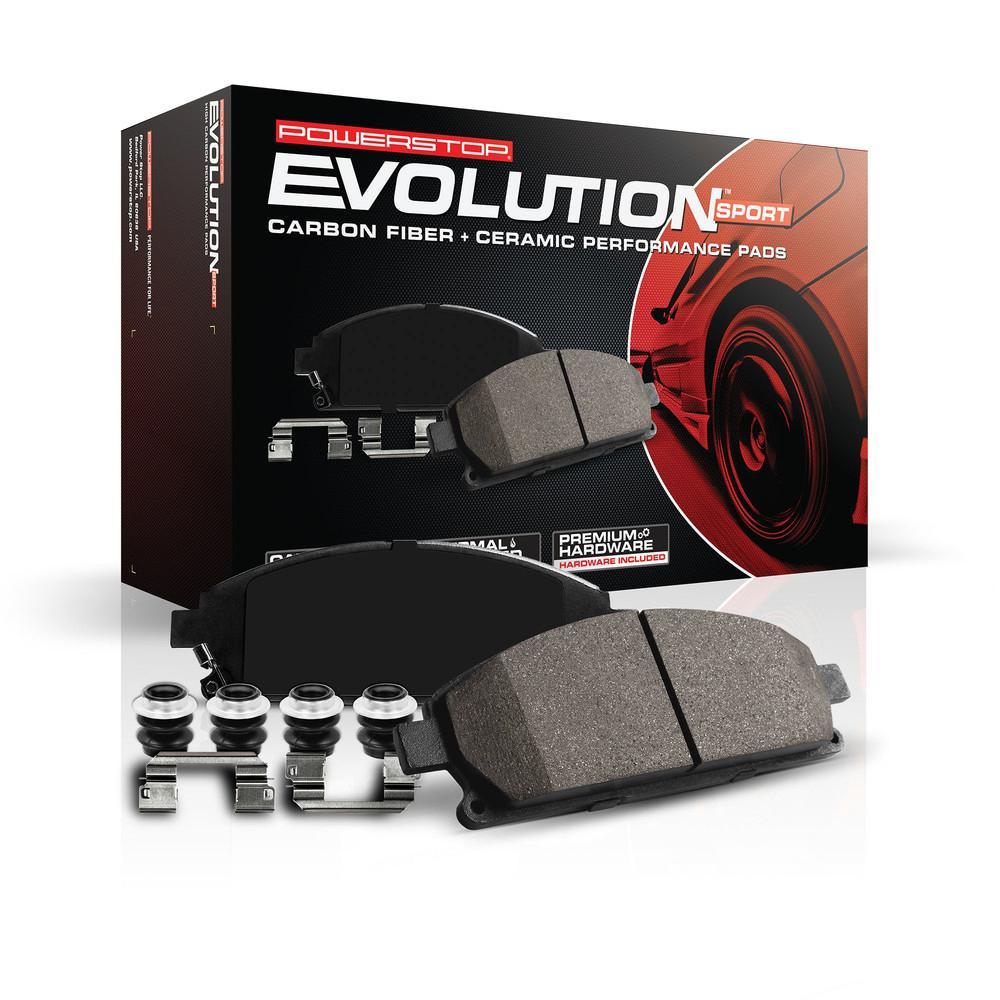 Power Stop Z23 Evolution Sport Carbon Fiber Ceramic Brake Pads Z23