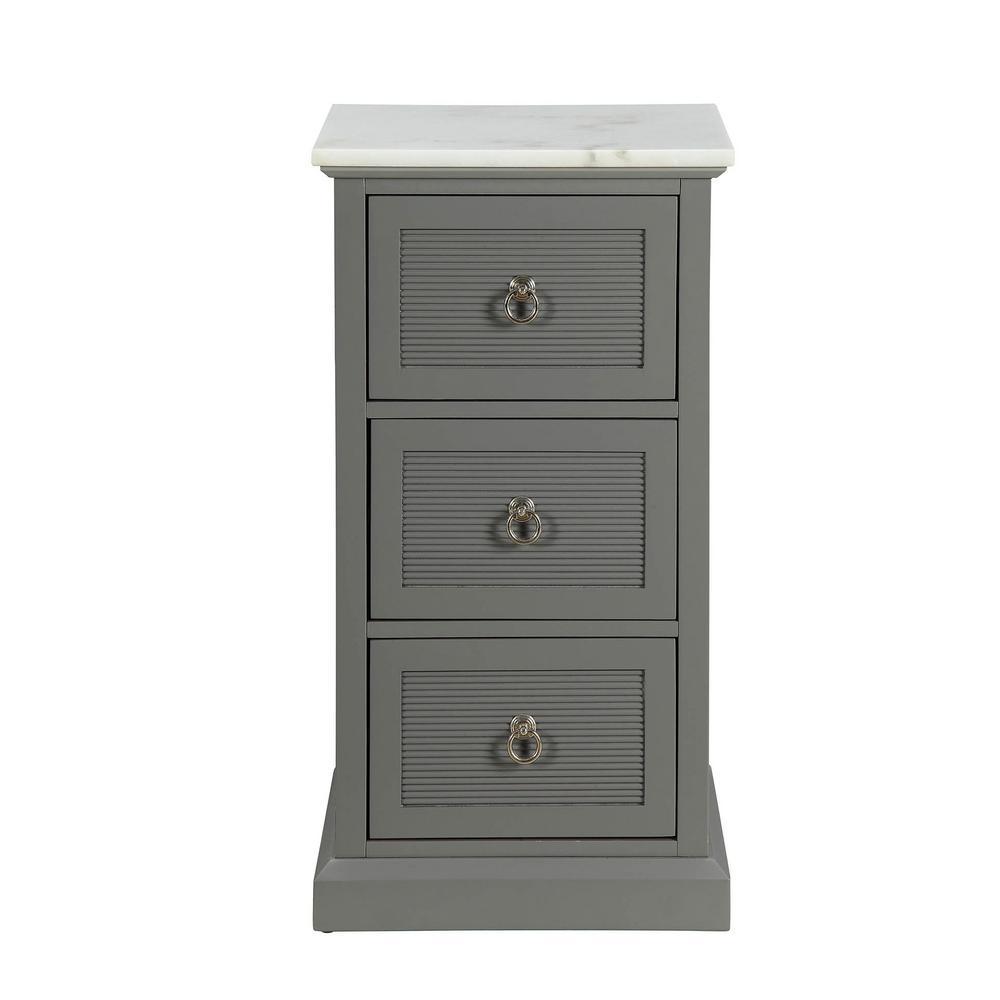 Swart Grey Cabinet