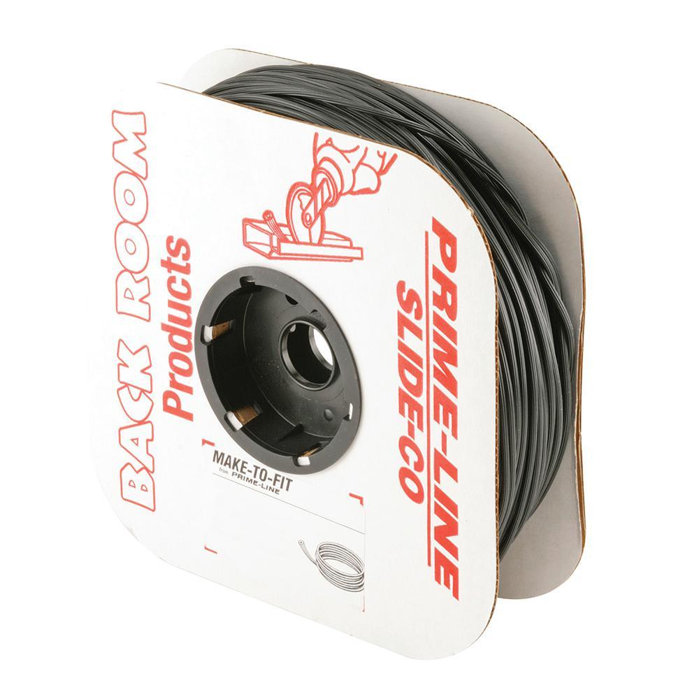 0.25 in. x 250 ft. Roll Black Spline
