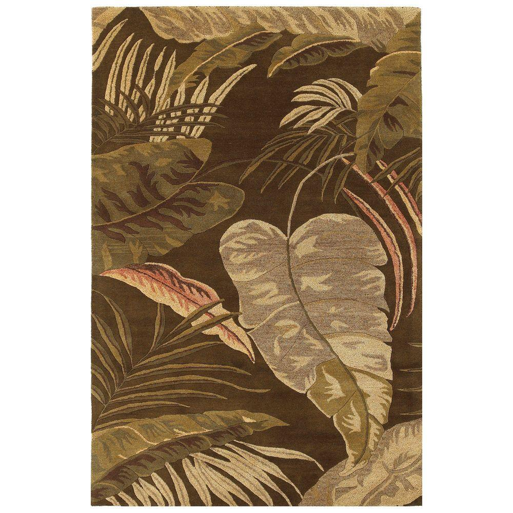 Landscape Palm Mocha 8 ft. x 10 ft. 6 in. Area