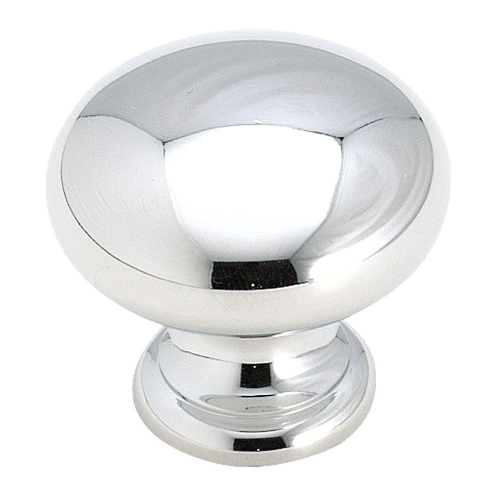Amerock 1 1/4 In. Polished Chrome Cabinet Knob