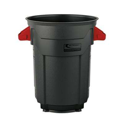 20 Gal.Gray Commercial Trash Can