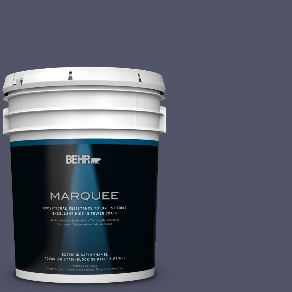 5-gal. #S560-7 Lap of Luxury Satin Enamel Exterior Paint