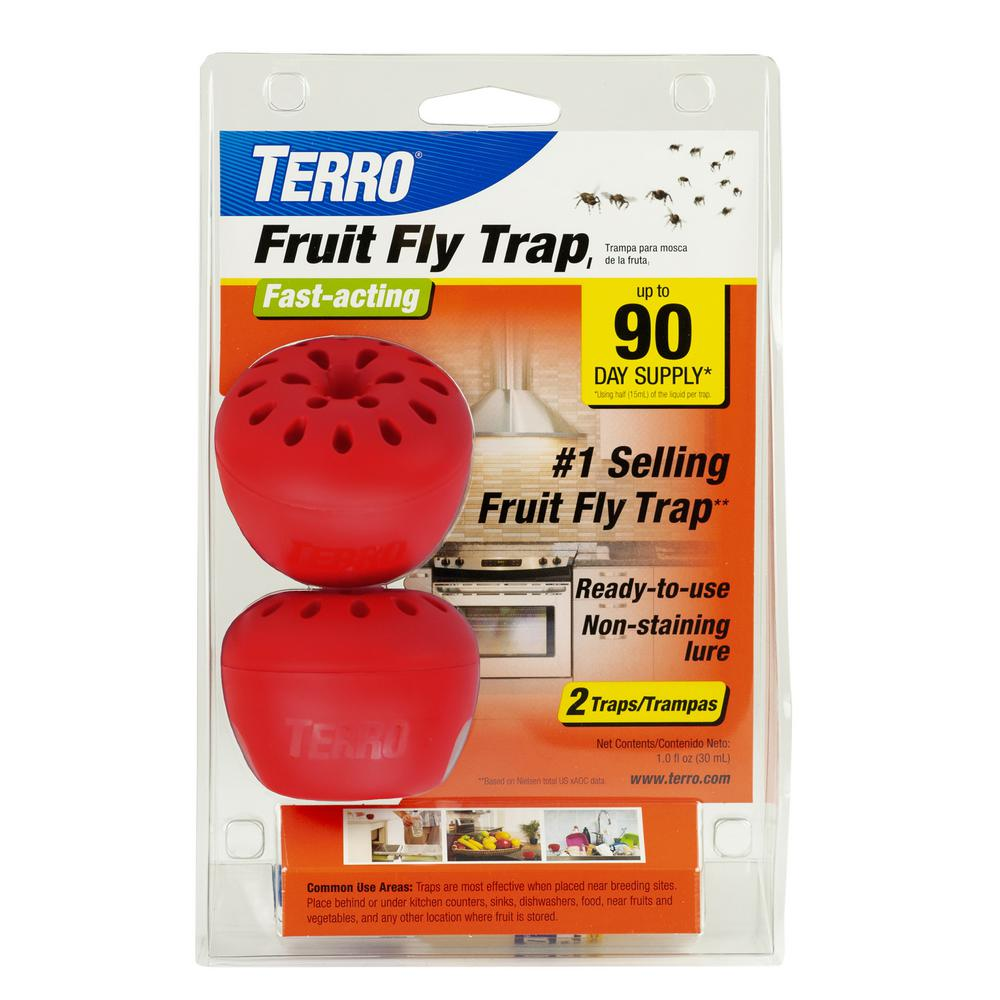 TERRO Indoor Fruit Fly Trap (2-Count)