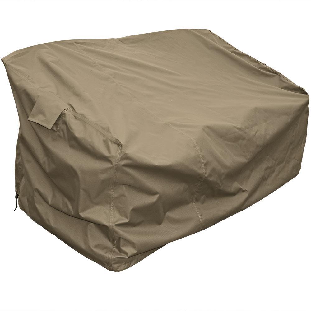 Deep Seating Patio Sofa Protective Cover in Khaki