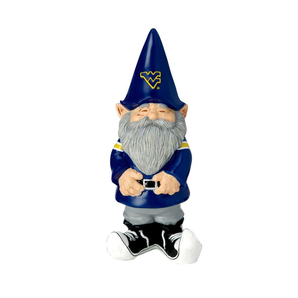 Evergreen Enterprises 11-1/4 in. West Virginia University Garden Gnome-DISCONTINUED