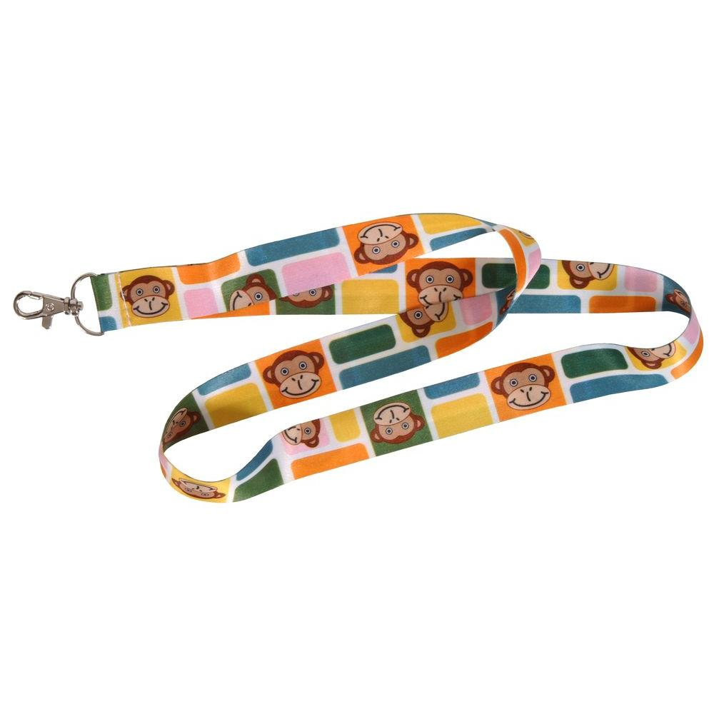 The Hillman Group Monkey Lanyard (6-Pack), Adult Unisex, Combination Pack Show everyone your favorite animal with this neck lanyard. Use to carry your keys, MP3 player, cell phone and more. This item is sold individually. Color: Combination Pack. Gender: Unisex. Age Group: Adult.