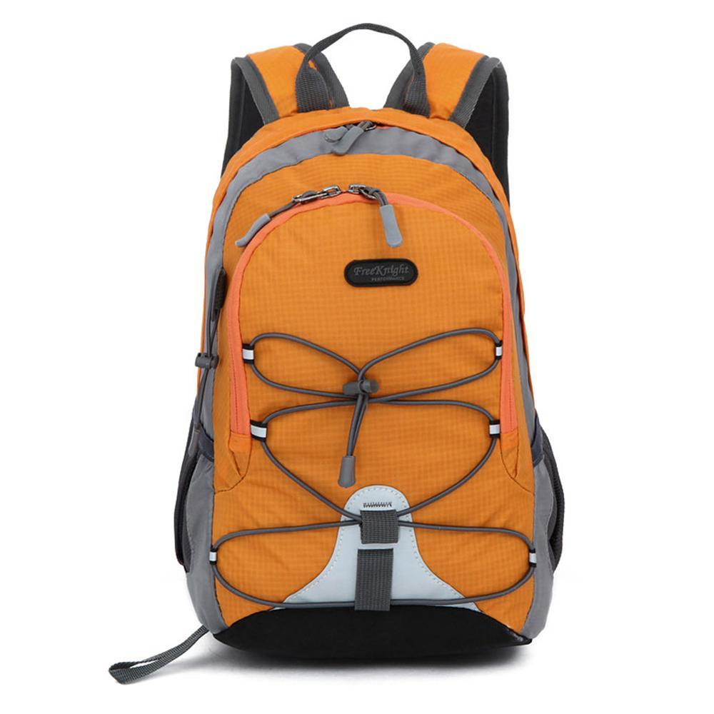 Free Knight FK0611 Waterproof Nylon Mini Sports 5 in. Orange Backpack for Kids