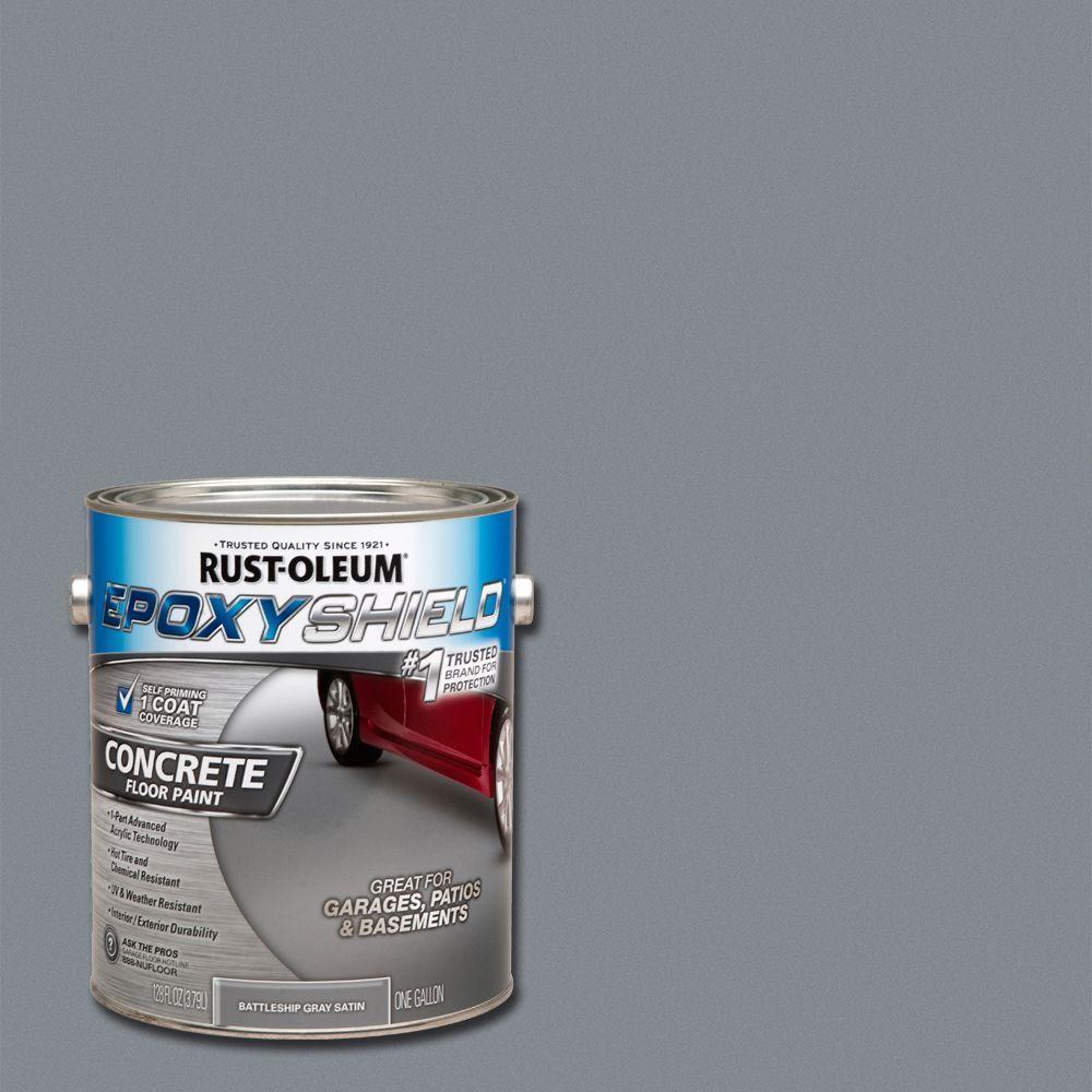 Rust Oleum Epoxyshield Concrete Basement Amp Garage Floor