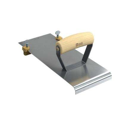 12 in. x 4-7/8 in. Adjustable Edger with 1 in. x 3/4 in. Bit and 1/2 in. Radius