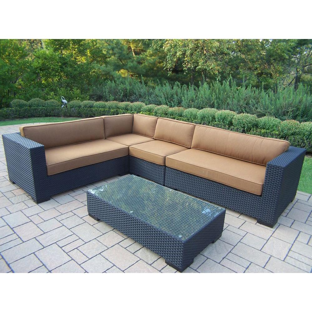 wicker lovely patio ideas outdoor sectional furniture design