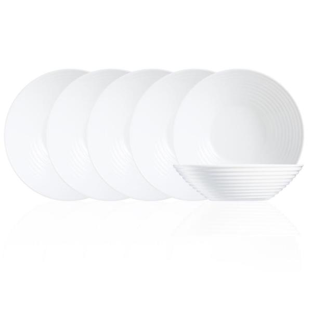 Harena White All Purpose Bowl (Set of 6)