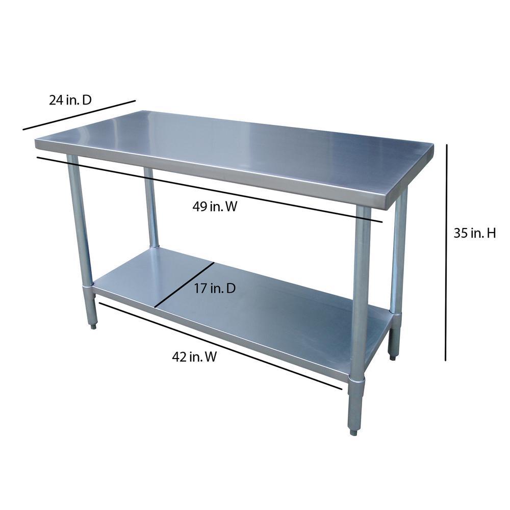 Work Table For Kitchen Stainless steel work table kitchen center island storage utility details stainless steel work table kitchen workwithnaturefo