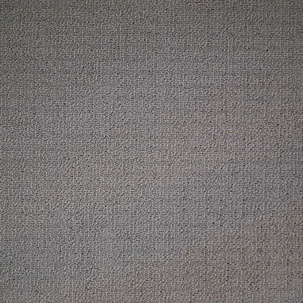 Carpet Sample - Wildly Popular I - Color Alder Textured Loop 8 in. x 8 in.