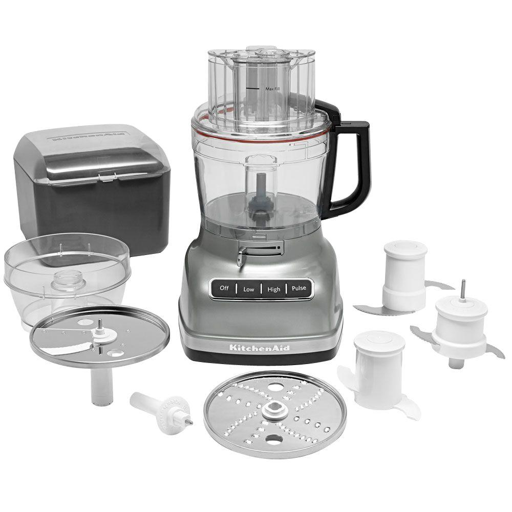 Kitchenaid Exactslice Food Processor Kfp1133cu The Home Depot