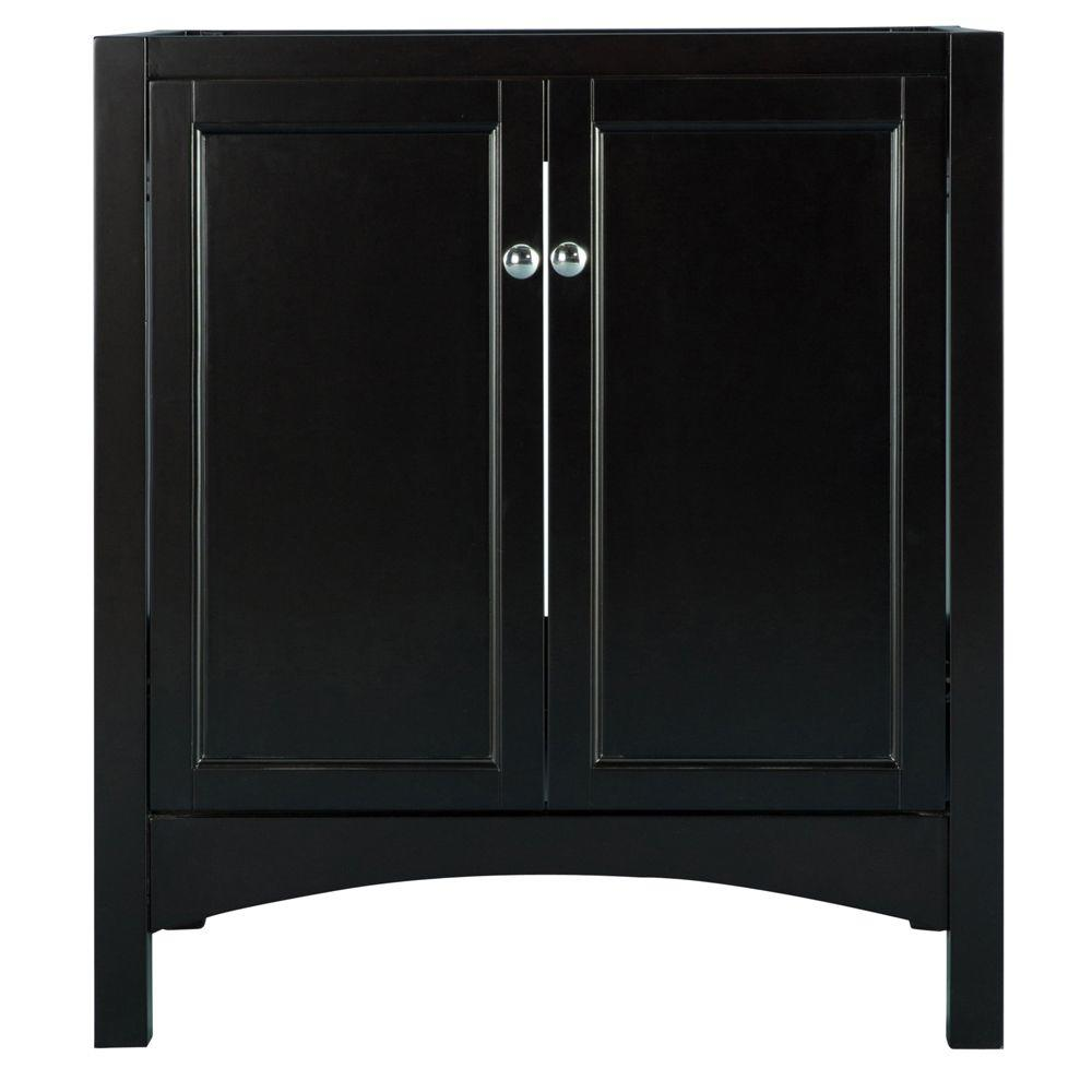 Home Decorators Collection Haven 30 in. W x 21.625 in. D x 34 in. H Vanity Cabinet Only in Espresso