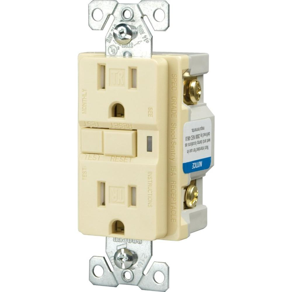 Cooper Wiring Devices 20 Amp White Decorator Duplex Electrical Outlet