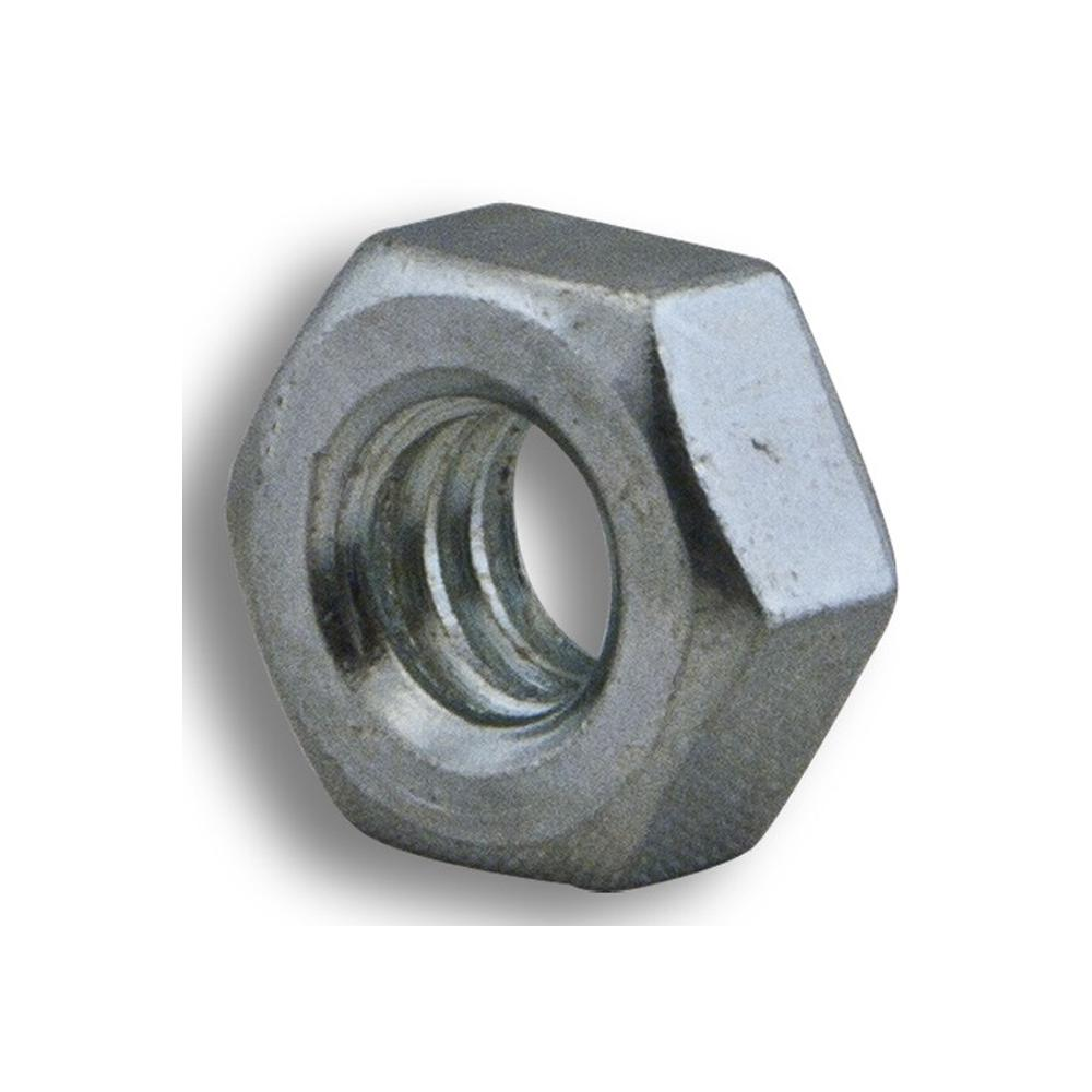 1/4 in. - 20 TPI Zinc-Plated Hex Nut (100-Pack)