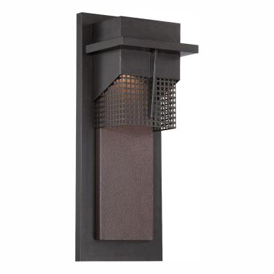 Beacon Burnished Bronze Outdoor LED Wall Lantern Sconce