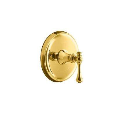 Revival 1-Handle Thermostatic Valve Trim Kit in Vibrant Polished Brass (Valve Not Included)