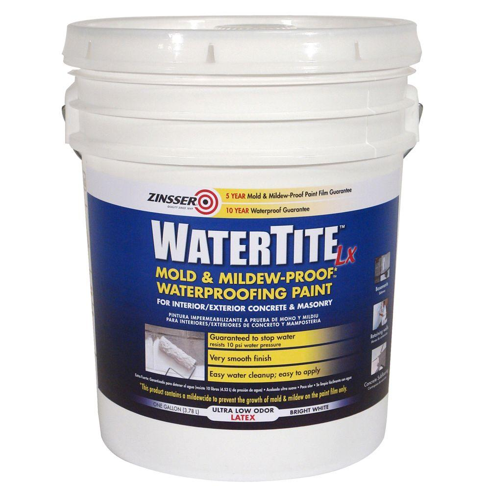 Zinsser Watertite 5-gal. Latex Concrete and Masonary Waterproofer-DISCONTINUED