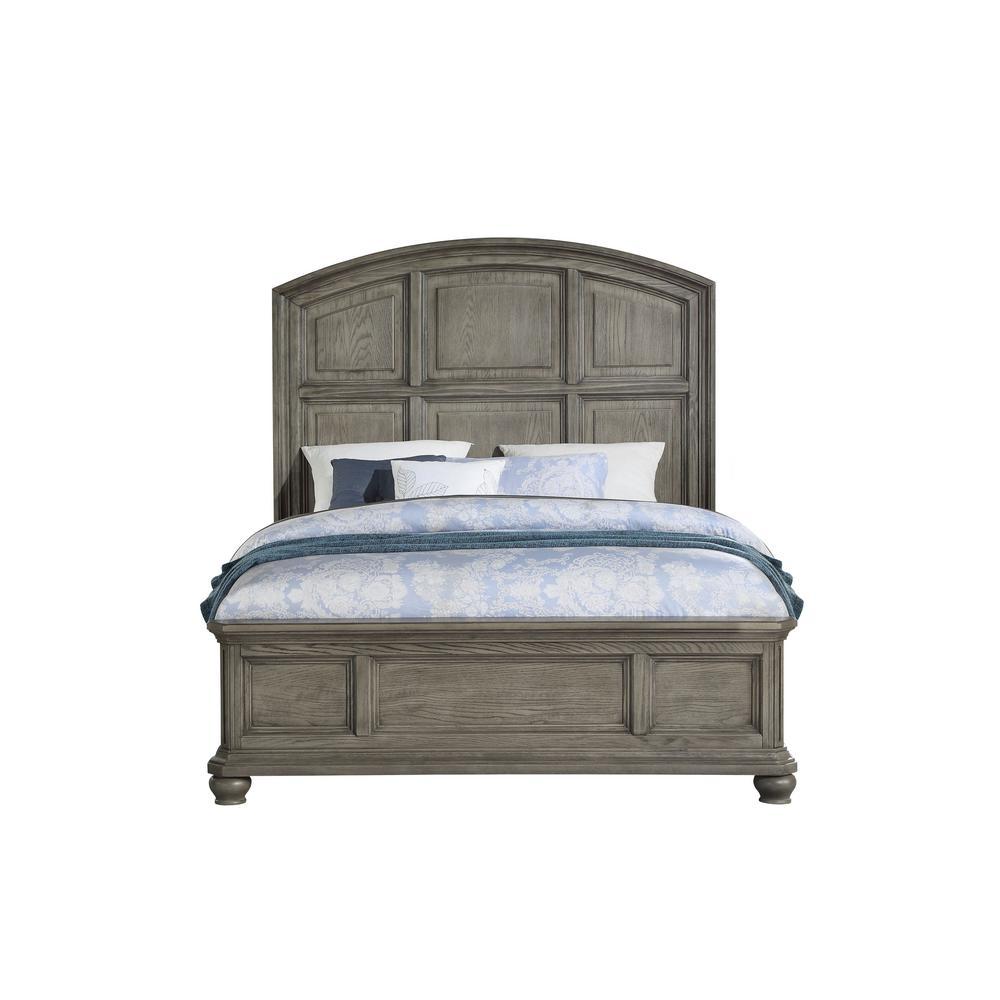 Kiran Gray California King Bed