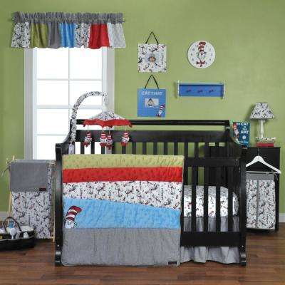 Dr. Seuss Cat in the Hat 3-Piece Crib Bedding Set