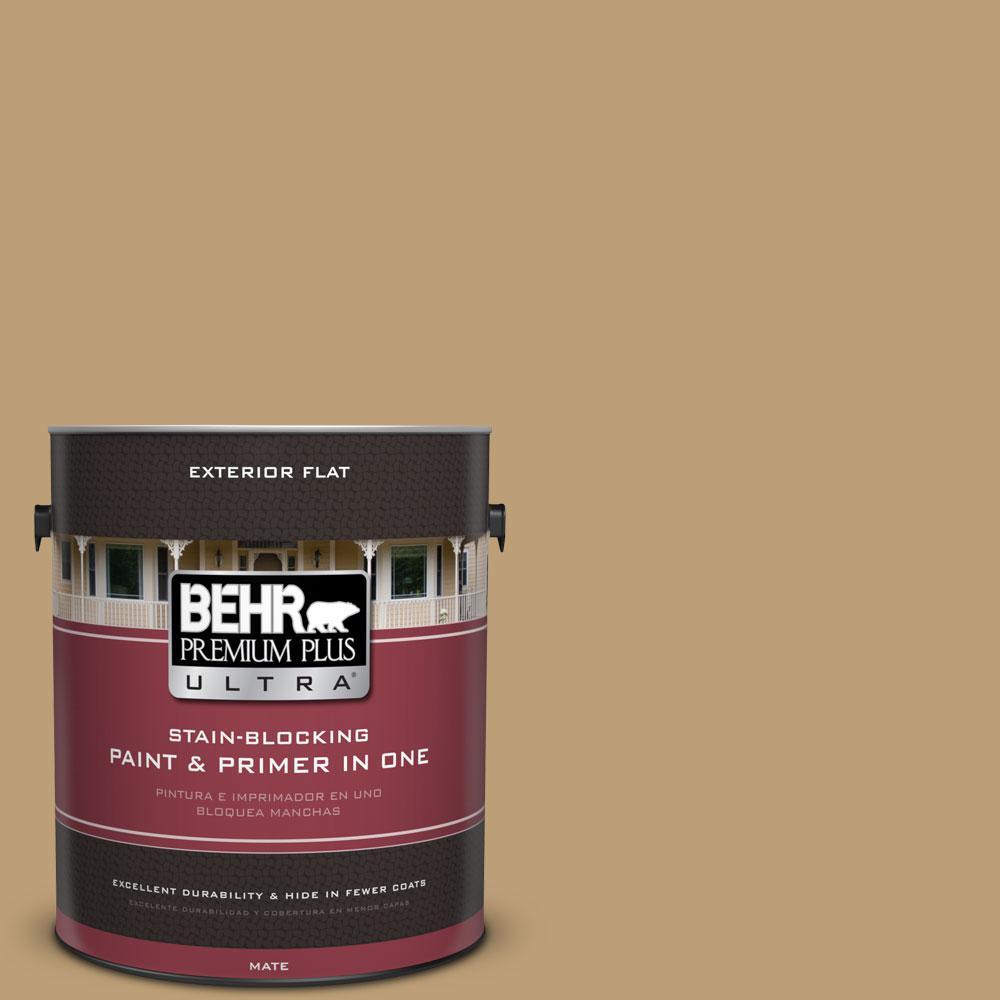 BEHR Premium Plus Ultra 1 gal. #320F-5 Mesa Flat Exterior Paint