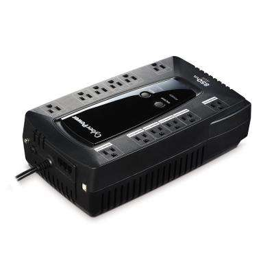 850 VA 12-Outlet UPS Battery Backup