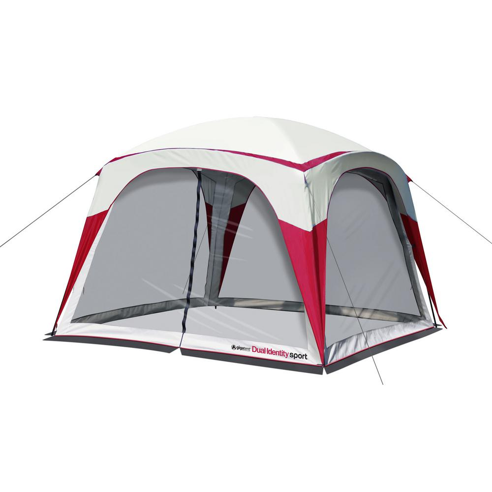 GigaTent Dual Identity Sport 10 ft. x10 ft. 360° Screen House / Canopy  sc 1 st  The Home Depot & GigaTent Dual Identity Sport 10 ft. x10 ft. 360° Screen House ...