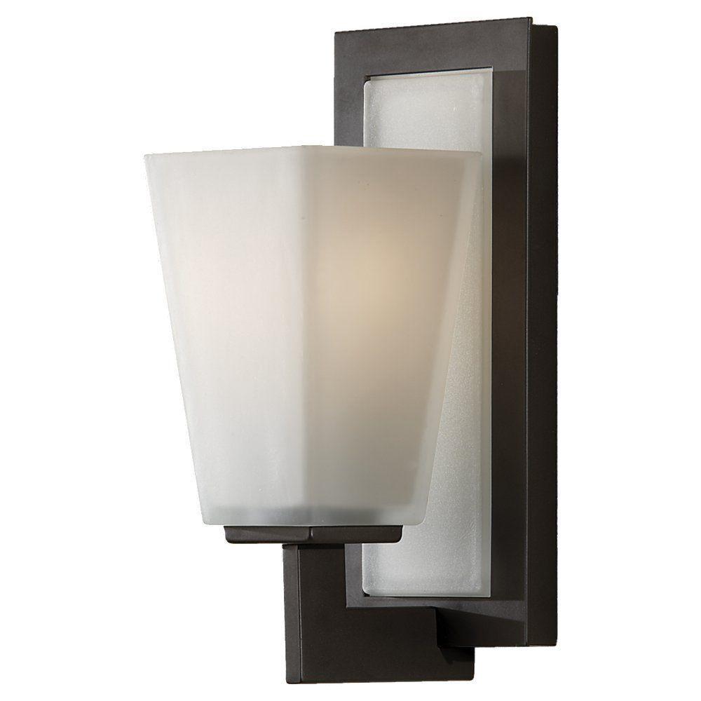 Clayton 1-Light Oil Rubbed Bronze Vanity Light