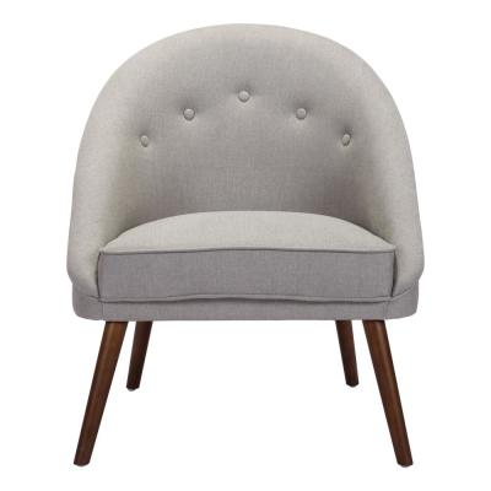 Carter Light Gray Occasional Chair