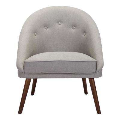 Carter Light Gray Occasional Chair