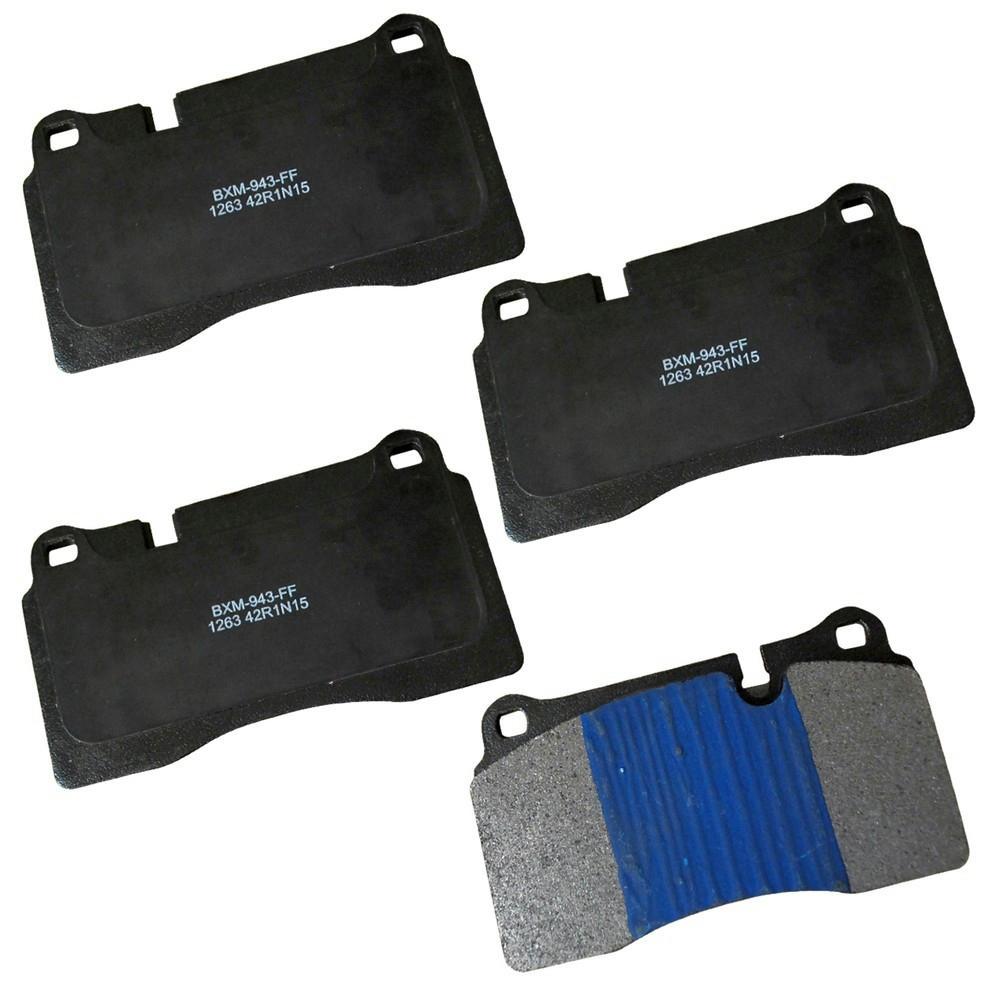 Front Stop Semi-Metallic Disc Brake Pad fits 2006-2009 Land Rover Range Rover Sport