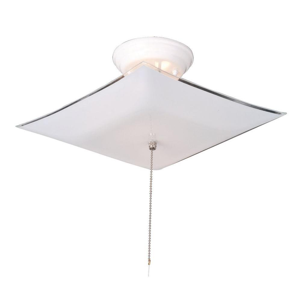 shop mount w ceiling in project fixture semi light white chain source frosted pd flush pull glass