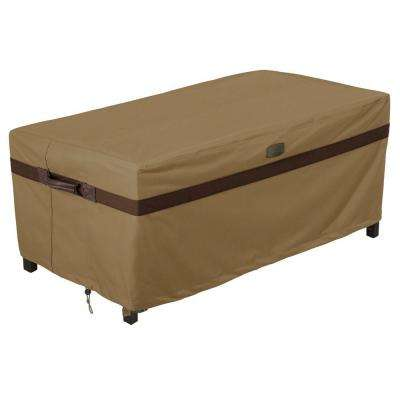 Hickory Patio Ottoman/Table Cover