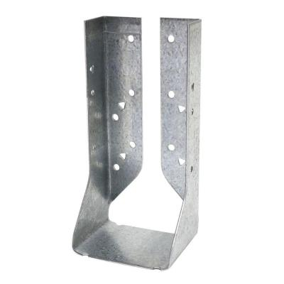HUC ZMAX Galvanized Face-Mount Concealed-Flange Joist Hanger for Double 2x8 Nominal Lumber