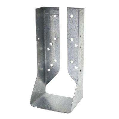 Z-MAX Double 2 in. x 8 in. Galvanized Concealed Face Mount Joist Hanger