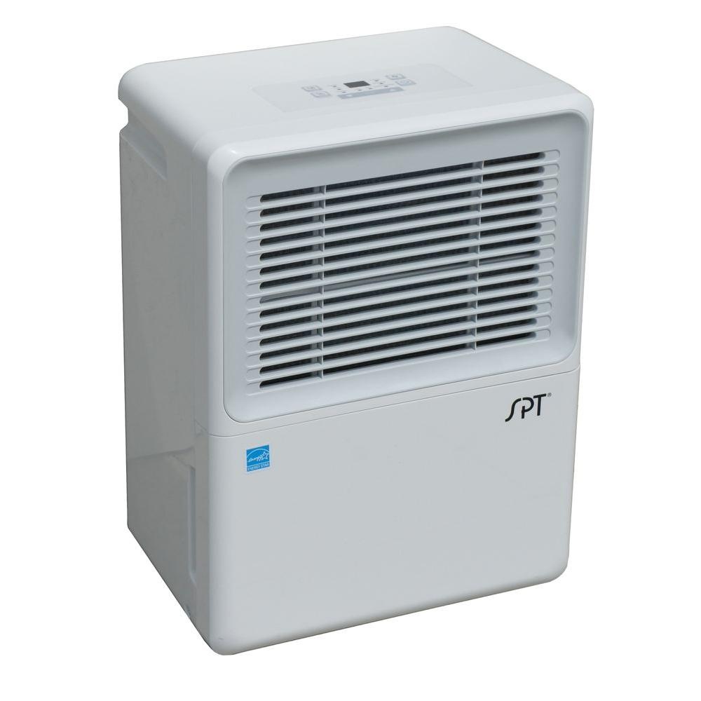 SPT 50-Pint Dehumidifier with Built in Pump and Energy Star
