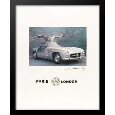 "24 in. x 18 in. ""Paris, Aux Galeries Lafayette"" by Fairchild Paris Car Series Wall Art"