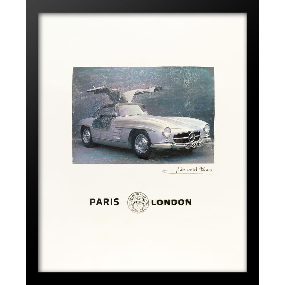 "24 in. x 18 in. ""Paris, Aux Galeries Lafayette"" by Fairchild Paris Car Series Wall Art"
