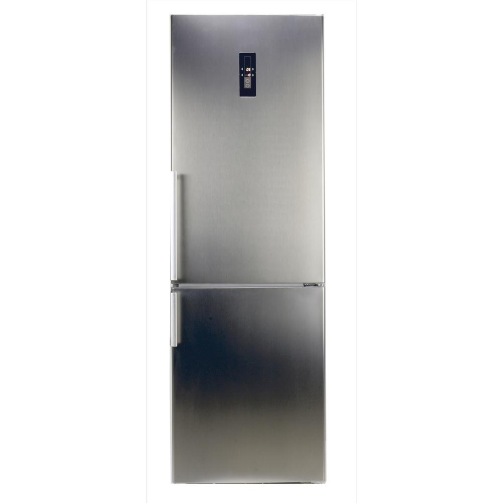10.8 cu. ft. Tall Bottom Mount Frost Free Refrigerator in Stainless